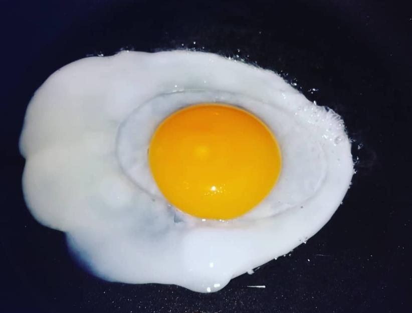 sunny-side-up goose eeg